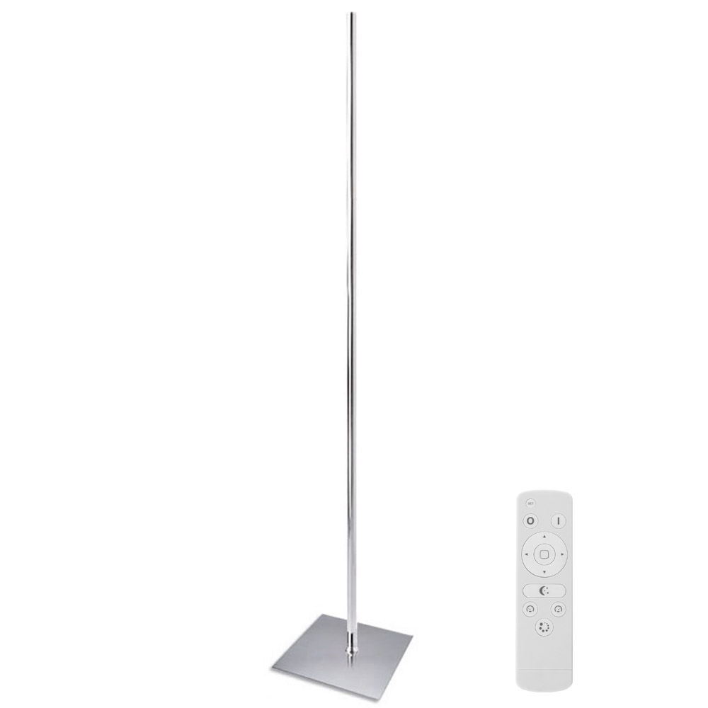 led floor lamp LUMO KVADRATA RF, 20W, Cool white, Regulable
